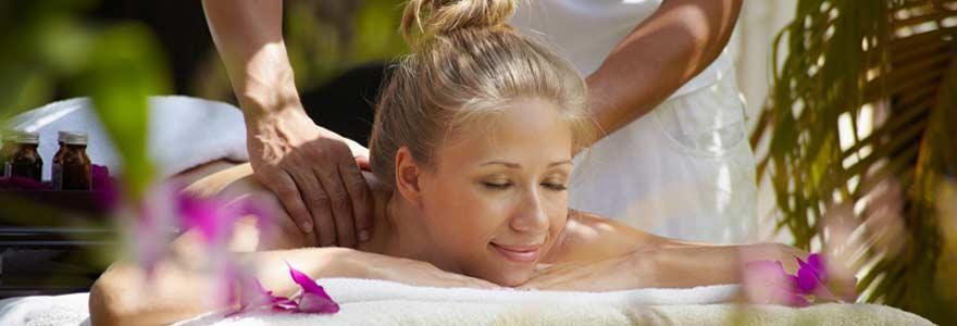 matériel de massage naturel