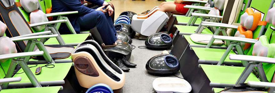 Massage électrique des pieds