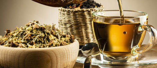 Boire un thé