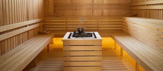 Sauna massif